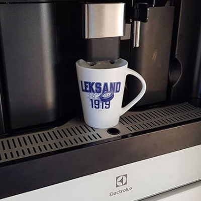 Köksmagasinet Kaffemaskin Favoritmugg Leksands IF