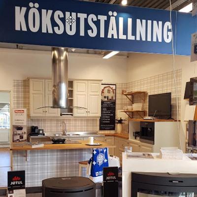 Köksmagasinet köksutställning Ludvika Elbolaget